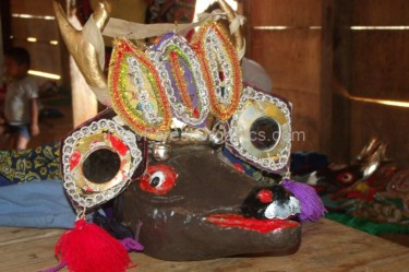 Ceremonial mask – Guatemala