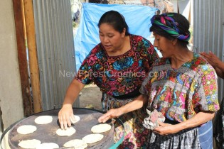 Making Tortillas – Guatemala